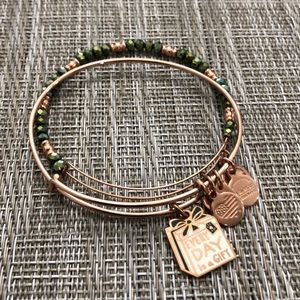 ALEX AND ANI Every Day is a Gift bracelet set